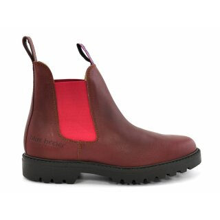 Blue Heeler Chelsea Boot Meryl red
