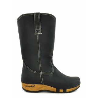 Woody Stiefel Texas nero
