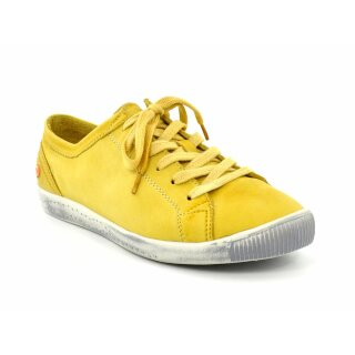 Softinos Halbschuh Isla washed yellow